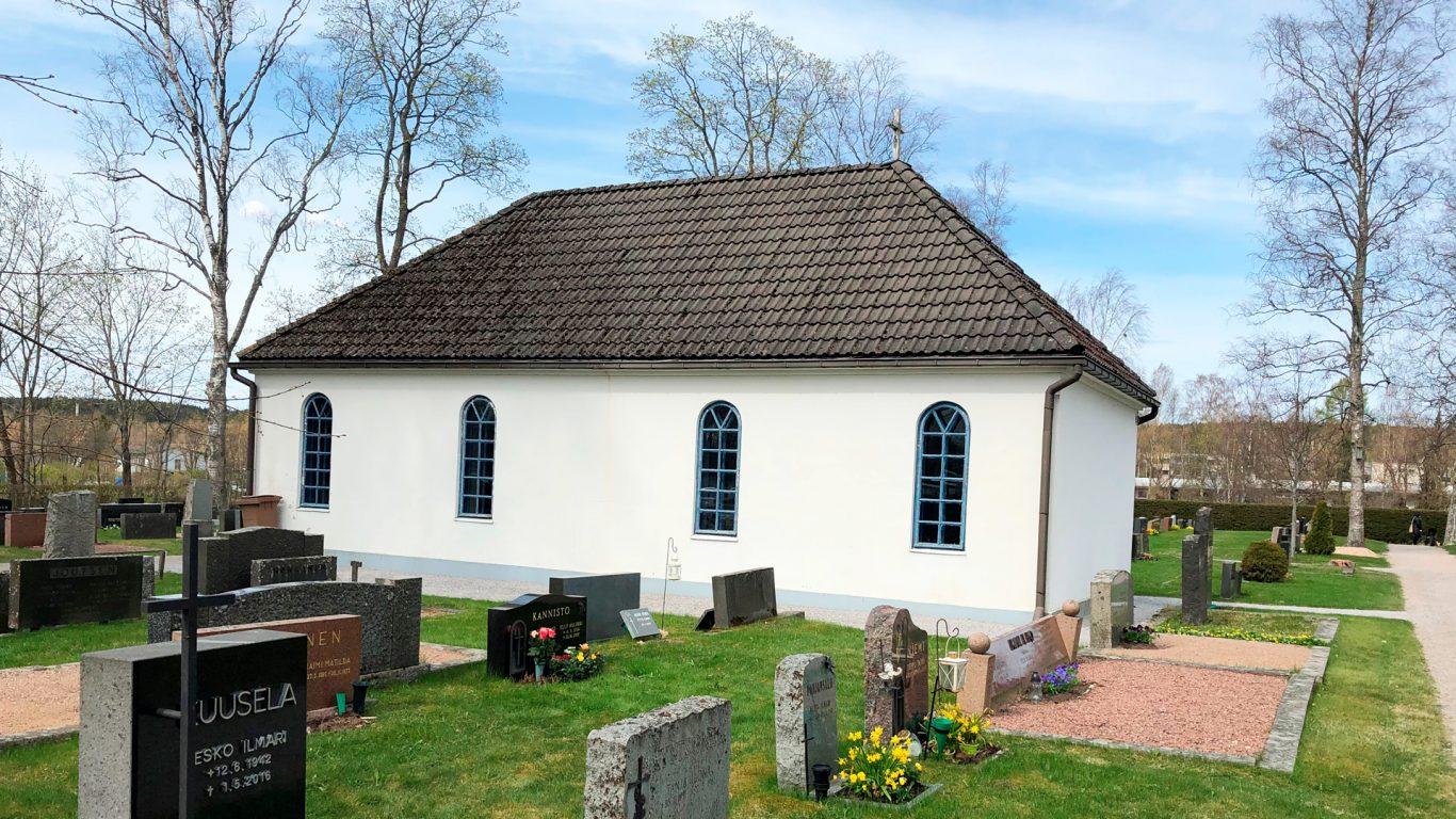 Salon hautausmaan kappeli