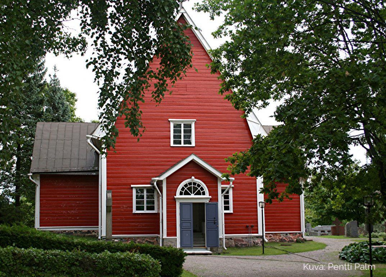 Särkisalon kirkko, Kuva: Pentti Palm