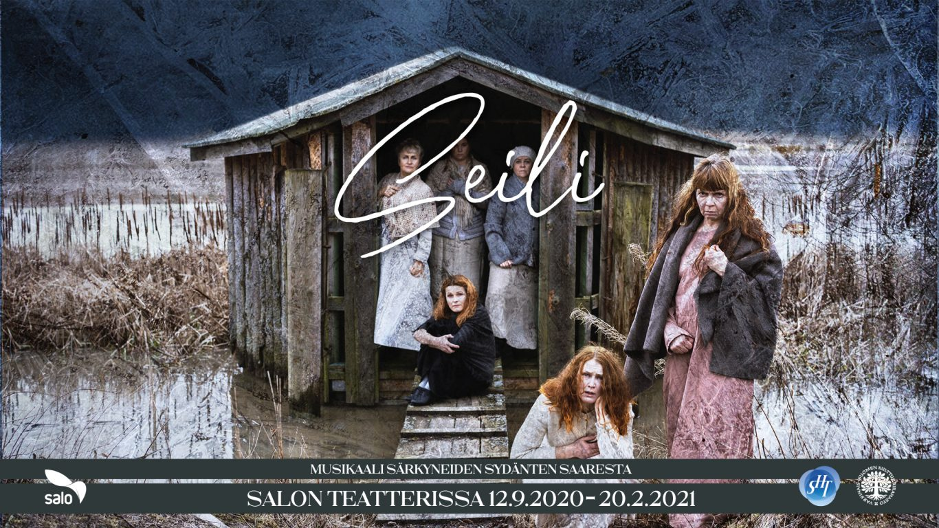 Seili - musikaali särkyneiden sydänten saaresta Salon Teatterissa