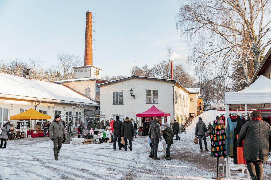 Teijon Masuunin Joulumarkkinat 2020, kuva: Jasmin Järvelä
