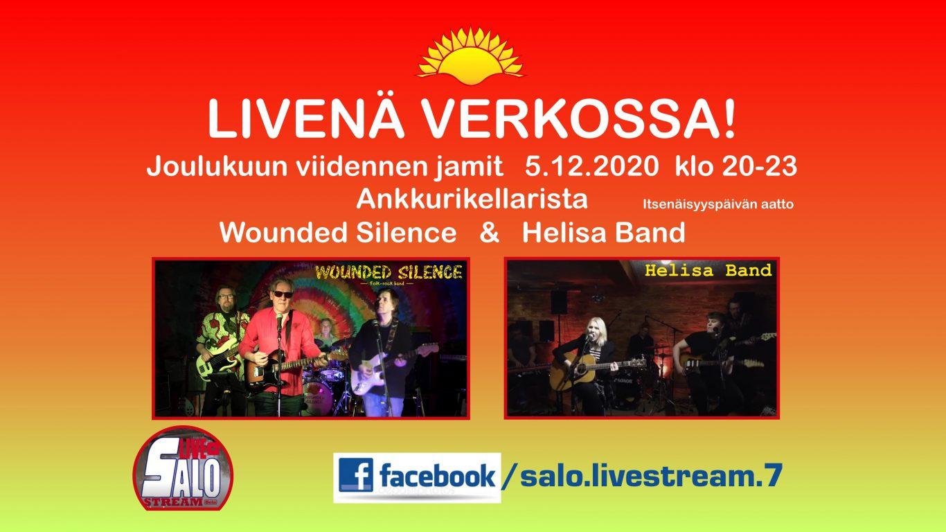 Wounded Silence   Helisa Band